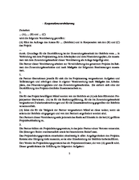 Muster Kooperationsvertrag Pdf Kostenfreier Download 6