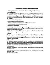 Vertrag über Die Moderation Einer Podiumsdiskussion
