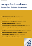 Dossier Coaching-Tools, -Techniken, -Interventionen