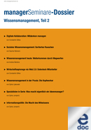 Wissensmanagement, Teil 2