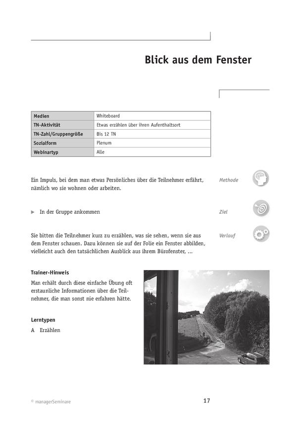 Kennenlernen gruppe methode