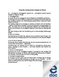 Vertragsvorlagen Für Training Beratung Und Coaching
