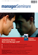 managerSeminare Heft 109, April 2007