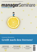 managerSeminare Heft 257, August 2019