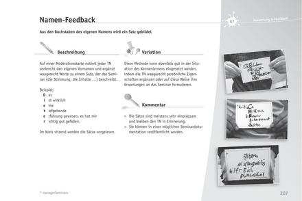 Trainingsspiel: Namen-Feedback