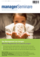 Cover managerSeminare 120 vom 22.02.2008