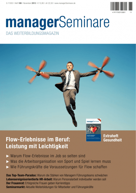 Cover managerSeminare 188 vom 25.10.2013