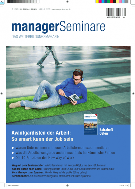 Cover managerSeminare 205 vom 20.03.2015