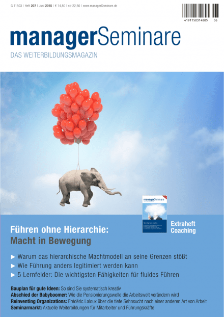 Cover managerSeminare 207 vom 22.05.2015