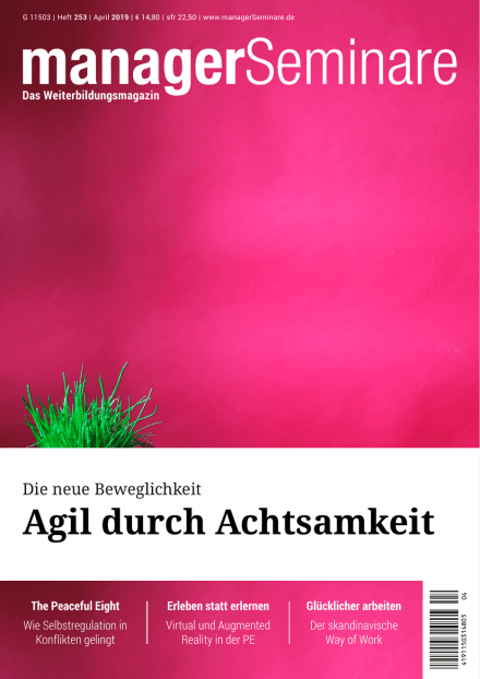 Cover managerSeminare 253 vom 22.03.2019