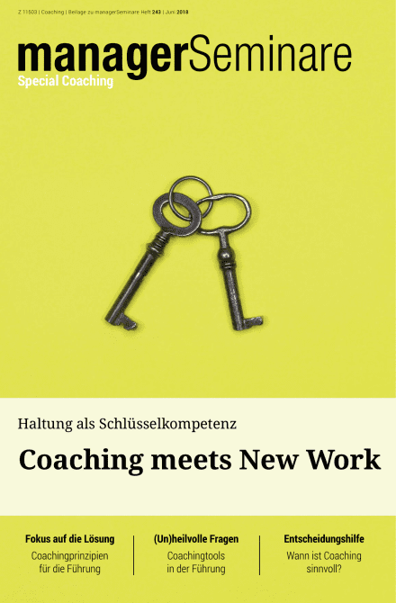 Extraheft  Coaching meets New Work