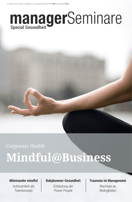 Extraheft  Corporate Health: Mindful@Business